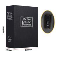 Két bí mật dạng cuốn từ điển size lớn, màu đen, khóa mã số