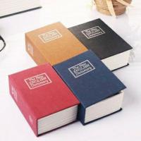Két mini giả sách từ điển size bé, màu đen, khóa mã số